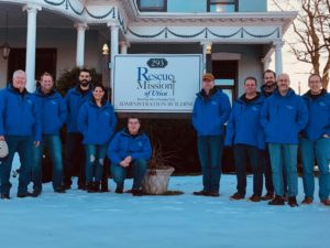 Cree staff at Albany Rescue Mission