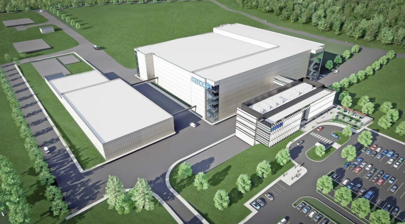 Rendering of Cree's NY Mohawk Valley fab