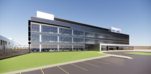 Rendering of Cree's NY SiC fab