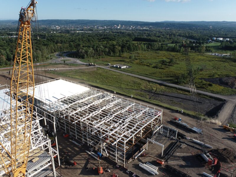 Construction of Cree's SiC fab in NY