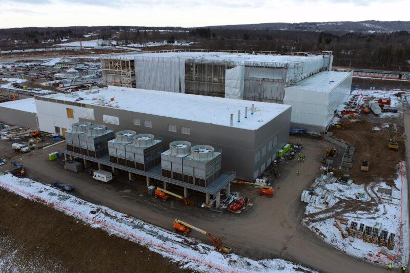 Cree NY fab construction
